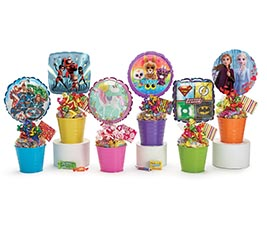 JUVENILE CHARACTERS CANDY TIN GIFTABLE