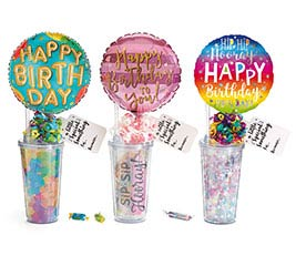 BIRTHDAY TRAVEL CUP GIFTABLE ASSORTMENT