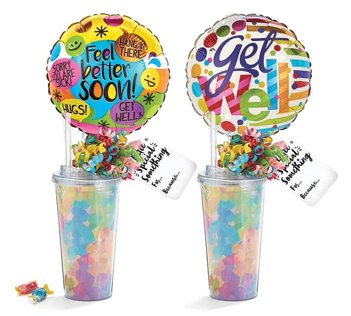 GET WELL TUMBLER GIFTABLE ASSORTMENT