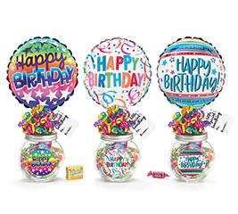 BIRTHDAY CANDY CONTAINER GIFTABLE