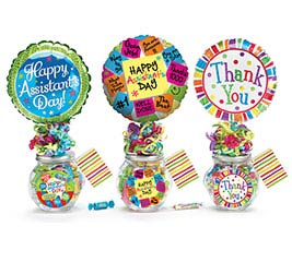 ASSISTANT'S DAY CANDY CONTAINER GIFTABLE