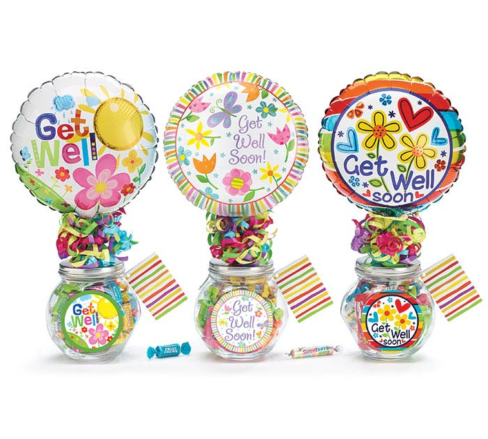 GET WELL CANDY JAR GIFTABLE ASSORTMENT