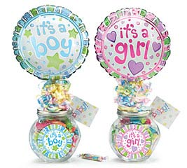 BABY GIFTABLE GLASS JAR