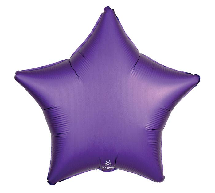 "19""SOL SATIN LUXE PURPLE ROYALE STAR"