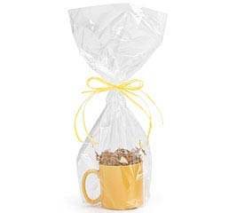 "CLEAR BASKET OR MUG BAG 20""H X 9""W"