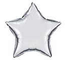 "4""INFLATED SLVR STAR"