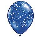 "11""STARS ON SAP BLUE"