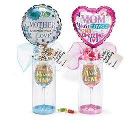 MOM WINE GLASS GIFTABLE