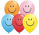 "11"" QUALATEX SMILEY LATEX ASSORTMENT"