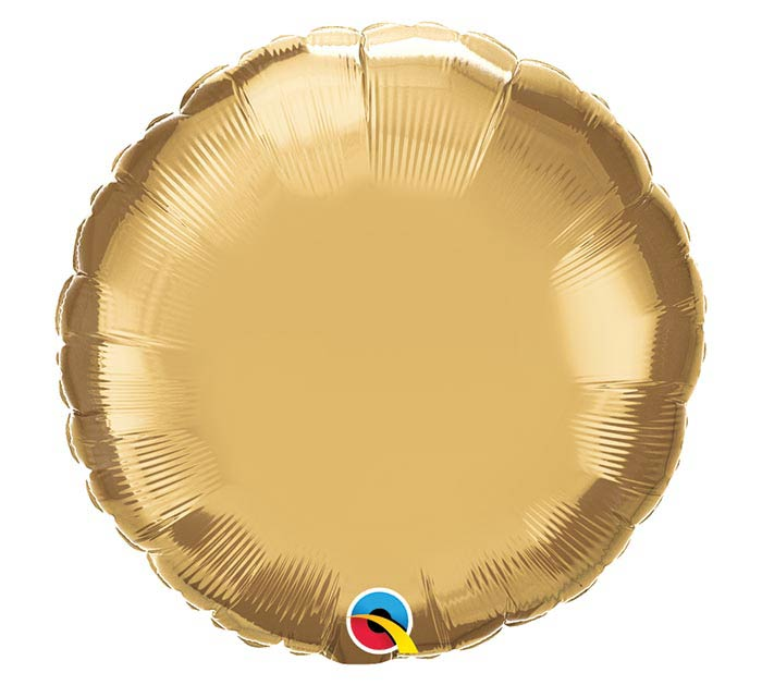 "18""SOL CHROME GOLD ROUND"