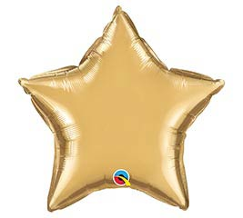 "20""SOL CHROME GOLD STAR"