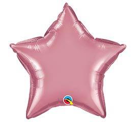"""20"""" SOLID CHROME MAUVE STAR"""