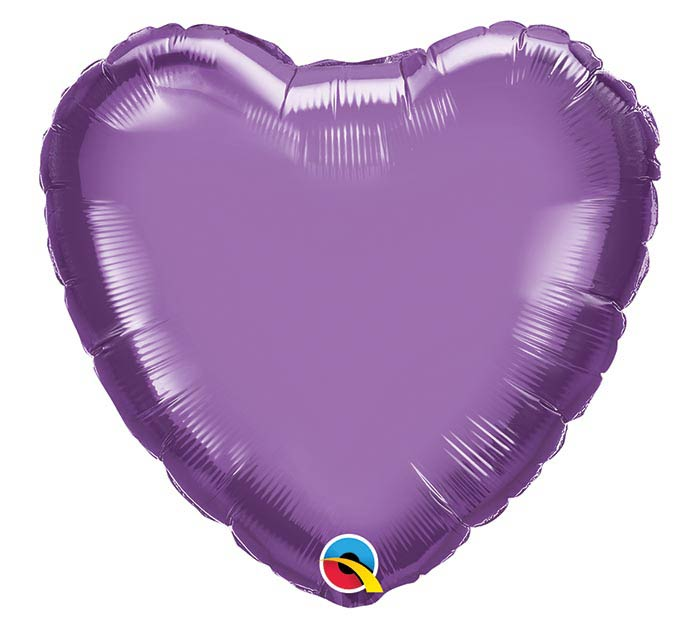 "18""SOL CHROME PURPLE HEART"
