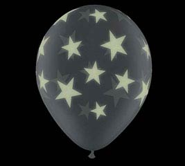 "11""GLO PRINT STARS"