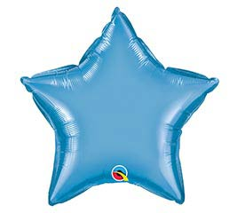 "20""SOL CHROME BLUE STAR"