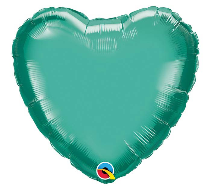"18""SOL CHROME GREEN HEART"