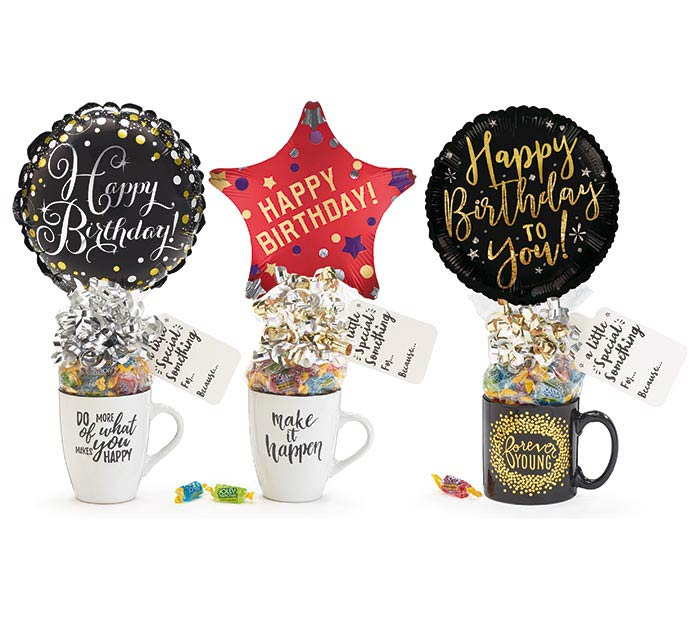 BIRTHDAY CANDY MUG GIFTABLE ASSORTMENT