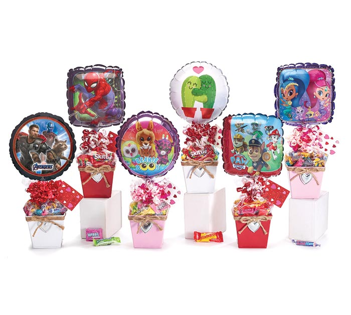 VALENTINE CHARACTER TIN GIFTABLE