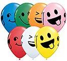 "11"" SMILEY FACES ASST"