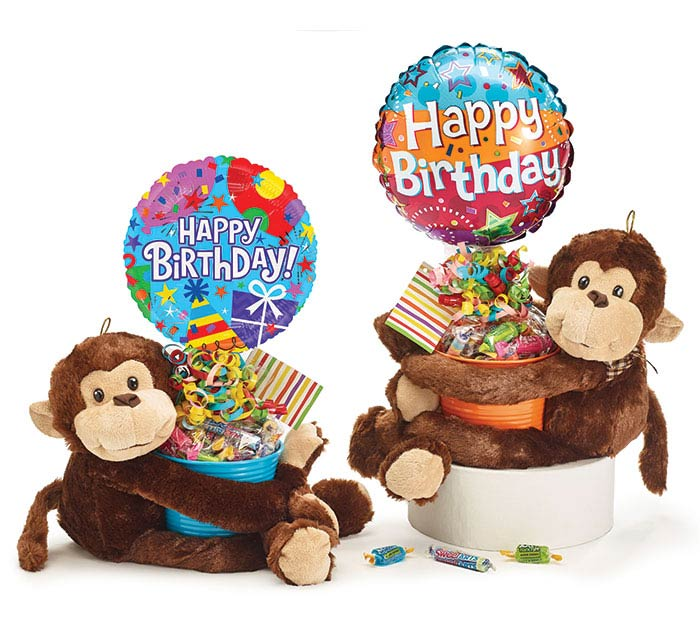 BIRTHDAY PLUSH GIFTABLE ASSORTMENT