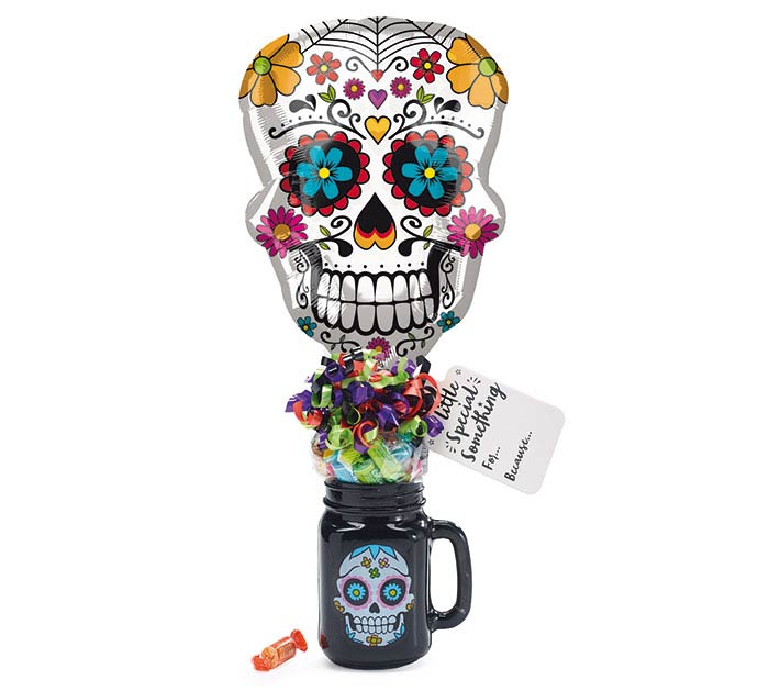 DAY OF DEAD MASON JAR GIFTABLE
