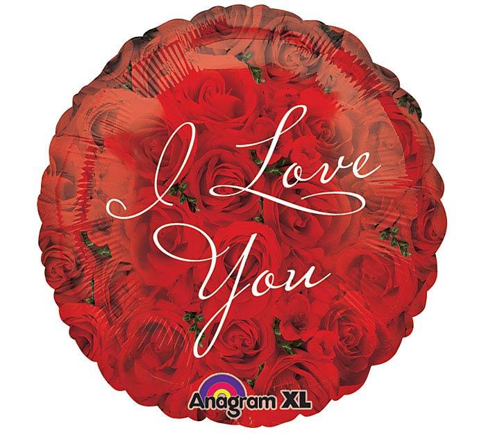 """18""""PKG I LOVE YOU"""
