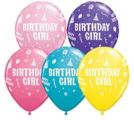 "11""HBD BDAY GIRL"