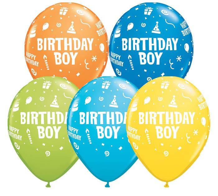 "11""HBD BIRTHDAY BOY"