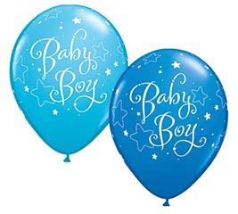 "11""BBY BABY BOY STARS"