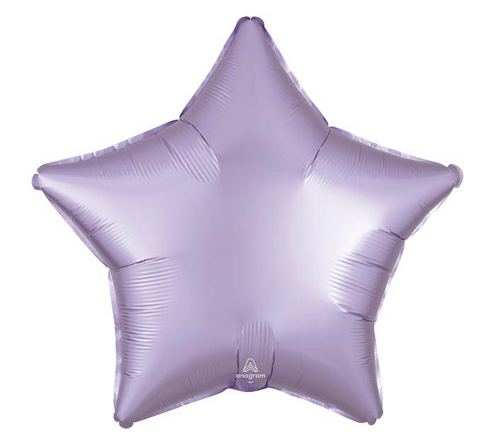 """19""""SOL SATIN LUXE PASTEL LILAC STAR"""