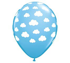 """11"""" CLOUDS ON PALE BLUE"""