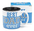 BEST DAD EVER CERAMIC MUG W/ BOX