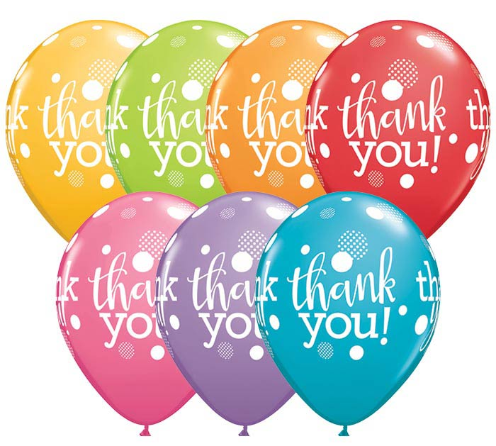 "11""THA THANK YOU DOTS UPON DOTS"
