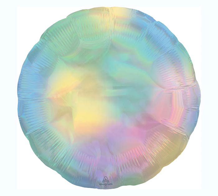 "18""SOL IRIDESCENT PASTEL RAINBOW CIRCLE"