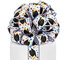 #9 GRAD HATS WIRED SATIN RIBBON