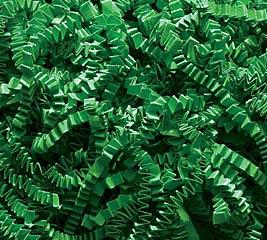 10 LB GREEN CRINKLE CUT SHRED