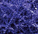 10 LB ROYAL BLUE CRINKLE CUT SHRED