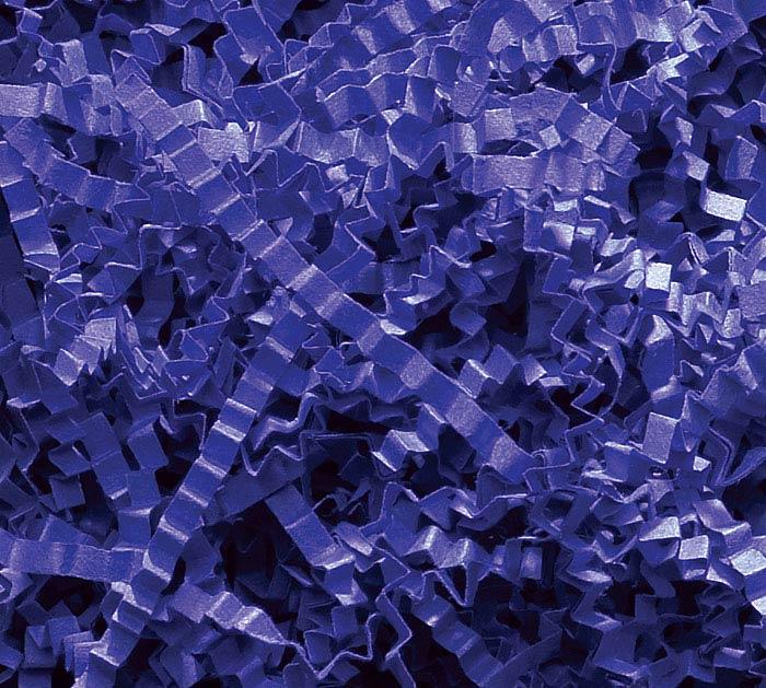 10 LB ROYAL BLUE CRINKLE CUT SHRED