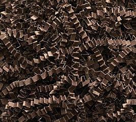 10 LB CHOCOLATE BROWN CRINKLE CUT SHRED