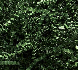 10 LB FOREST GREEN CRINKLE CUT SHRED