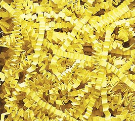 CANARY YELLOW CRINKLE CUT SHRED 10 LB