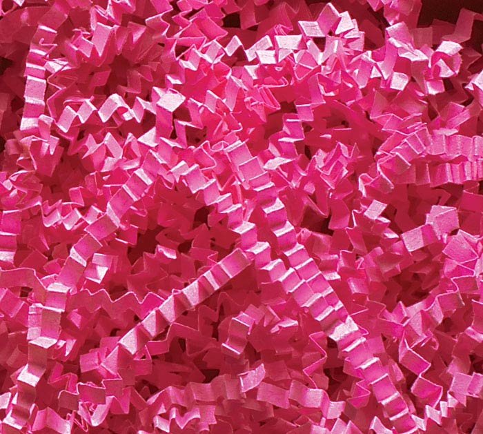 10 LB FUCHSIA CRINKLE CUT SHRED