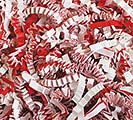 CANDY CANE BLEND CRINKLE CUT SHRED 10LB