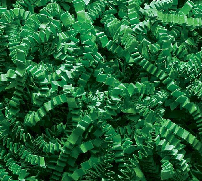 3-8 OZ BAGS GREEN CRINKLE CUT SHRED