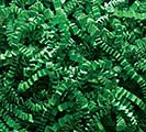 GREEN CRINKLE CUT SHRED