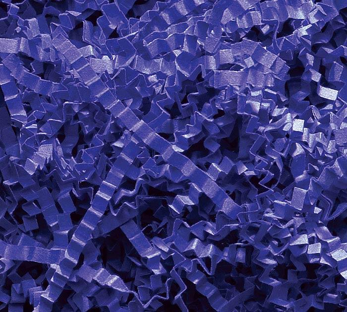 3-8 OZ BAGS ROYAL BLUE CRINKLE CUT SHRED