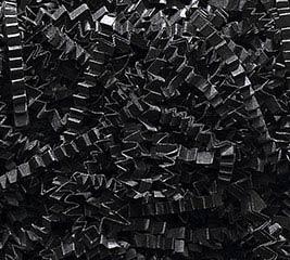 3-8 OZ BAGS BLACK CRINKLE CUT SHRED