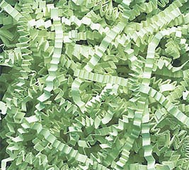 MINT GREEN CRINKLE CUT SHRED 1LB