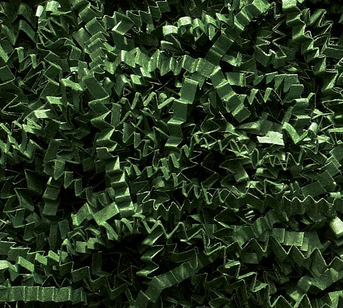 40 LB FOREST GREEN CRINKLE CUT SHRED