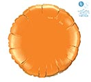 "18"" SOLID ORANGE ROUND"